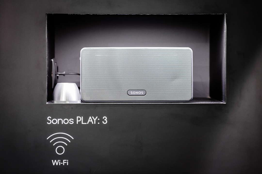 SPIN remote at IFA 2016 - SPIN remote SDC-1 with Sonos PLAY:3